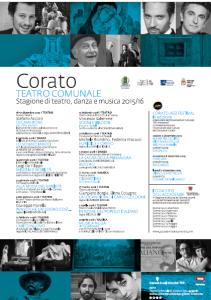 Il cartellone della stagione teatrale di Corato