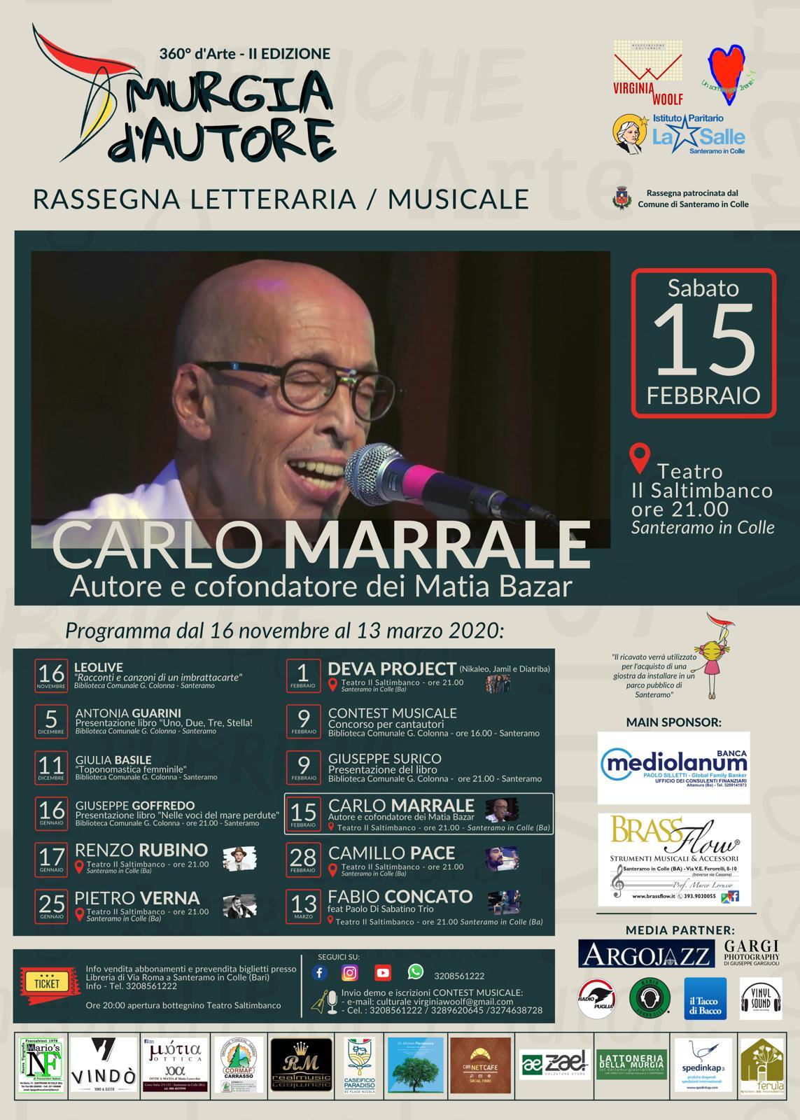 Locandina Carlo Marrale