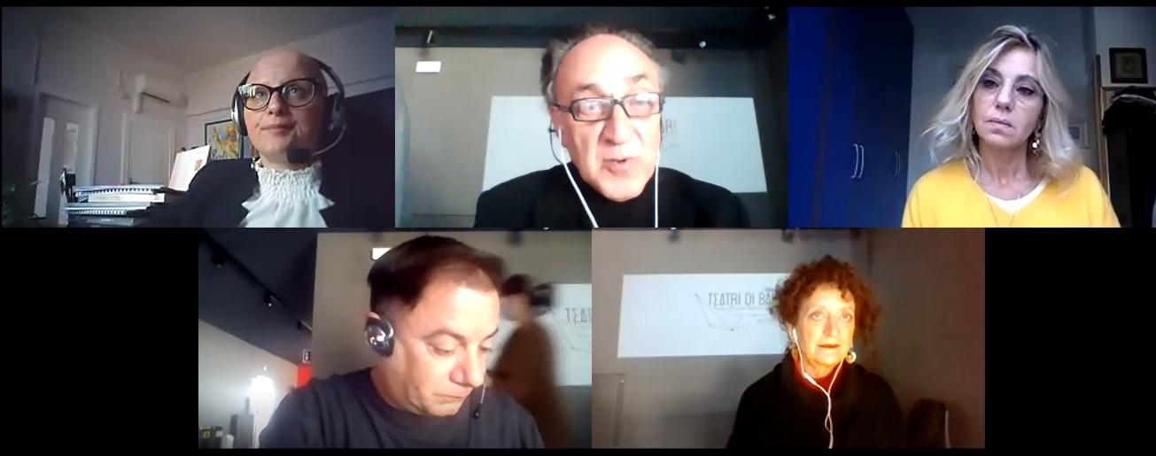 foto conferenza stampa_InesPierucci_AugustoMasiello_ConcitaDeGregorio_VincenzoCipriano_TeresaLudovico